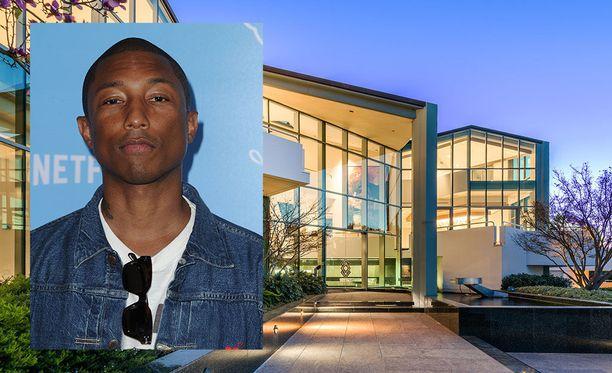 Pharrell Williams on 45-vuotias laulaja ja tuottaja - musiikin monilahjakkuus.