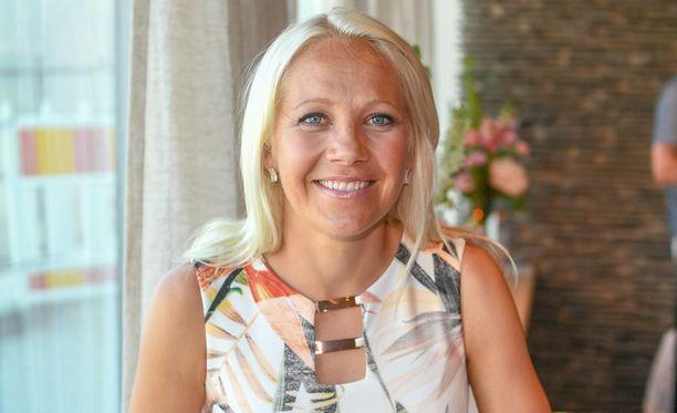 Kaisa Mäkäräinen sai inspiraatiota treeniinsä Suomen hiihtäjiltä.