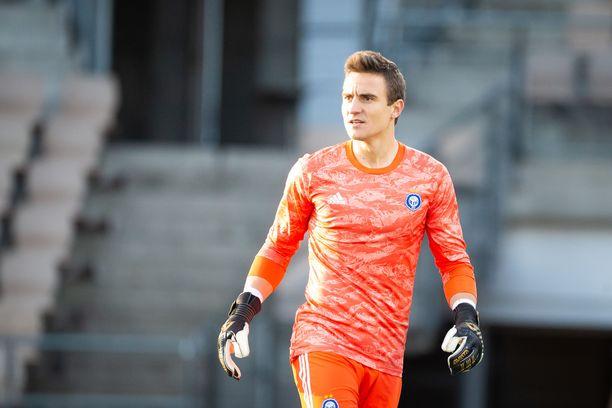 Antonio Reguero edustaa HJK:ta.