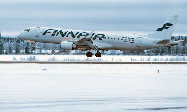 Joulukuu oli Kuusamon lentoasemalla ennätyksellisen vilkas.