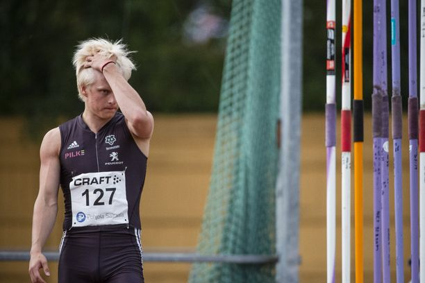 Topias Laineella on monipuolinen urheilutausta.