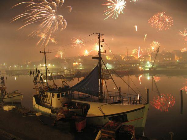 Fynilläkin juhlitaan uutta vuotta.