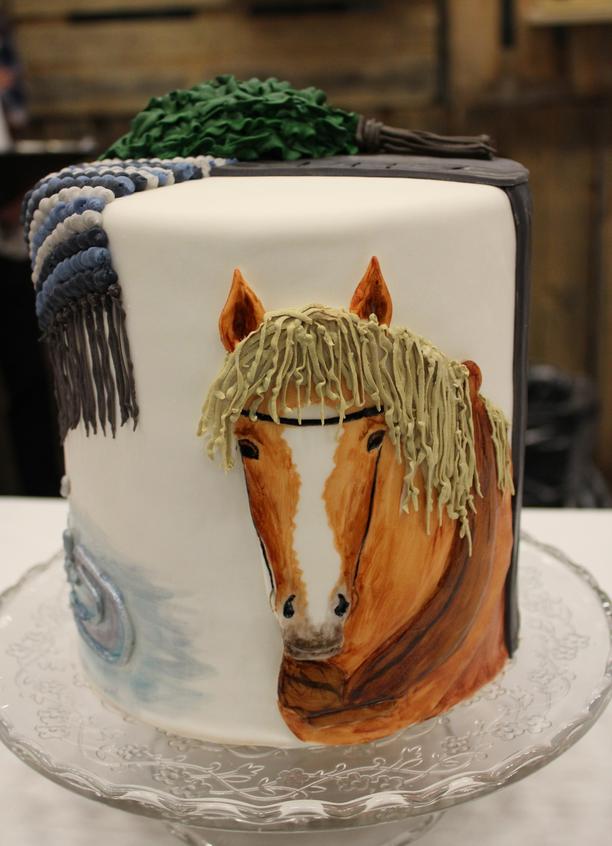 Saija Turusen kakussa ovat muun muassa hevonen ja saunavasta.