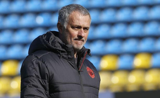José Mourinho osoitti tyytymättömyytensä.