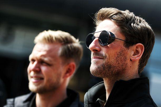 Kevin Magnussen ja Romain Grosjean eivät jatka Haasilla.