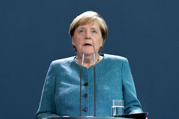 Liittokansleri Angela Merkelin mukaan todisteet novitšokin käytöstä ovat kiistattomat.