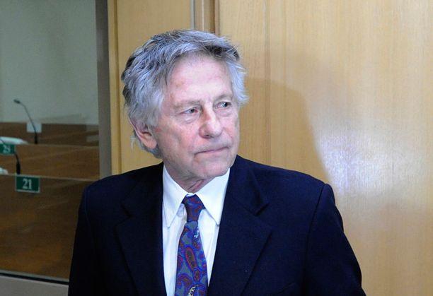 Roman Polanski ei kommentoinut millään tavalla ennen oikeussaliin astelemistaan.