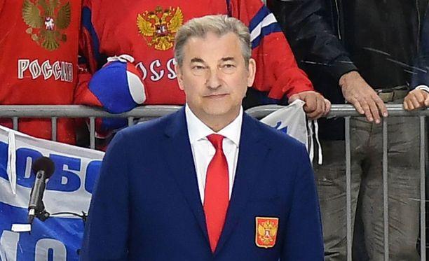 Vladislav Tretjak vakuutti, että maan jääkiekkoliitto tekee voitavansa.