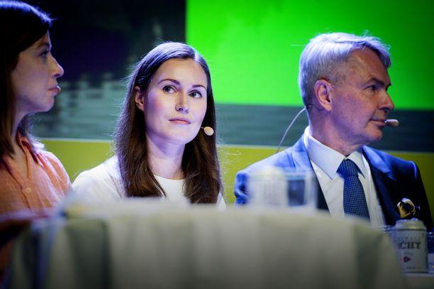 SDP:n varapuheenjohtaja Sanna Marin äänesti marraskuussa hoitajamitoituksen alentamisen puolesta.