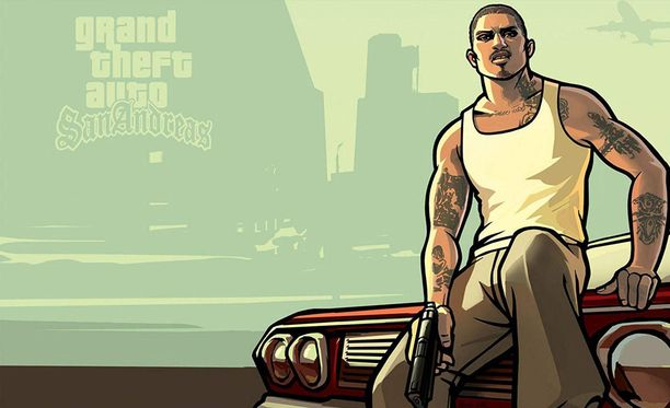 GTA: San Andreas julkaistiin vuonna 2004.