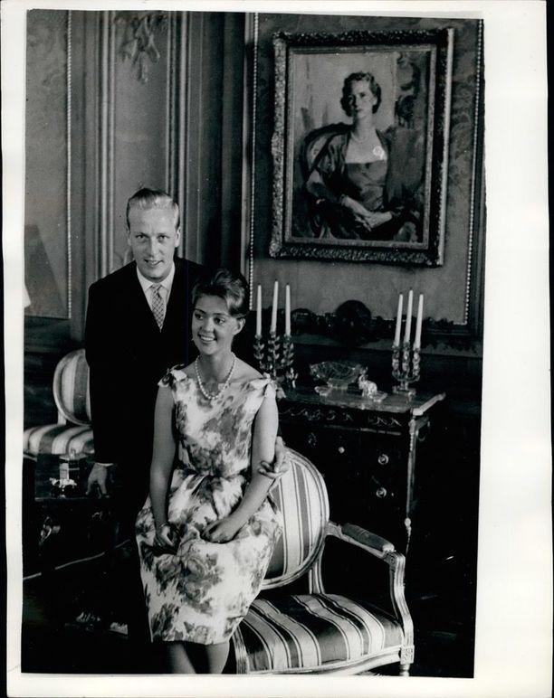 Birgitta avioitui prinssi Johann Georg av Hohenzollernin kanssa vuonna 1961.