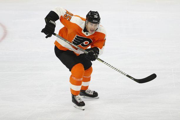 Jori Lehterä joutui vaihtamaan Philadelphia Flyersin Lehigh Valley Phamtomsiin.