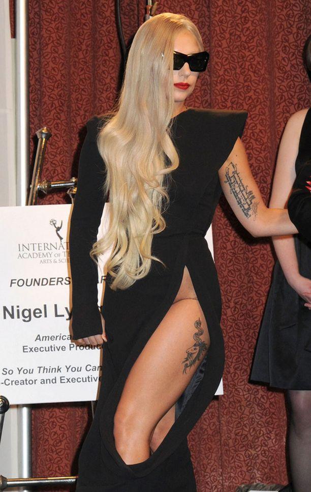 Poptähti Lady Gaga