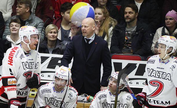 Marko Virtasen luotsaama JYP putosi HIFK:lle puolivälierissä.