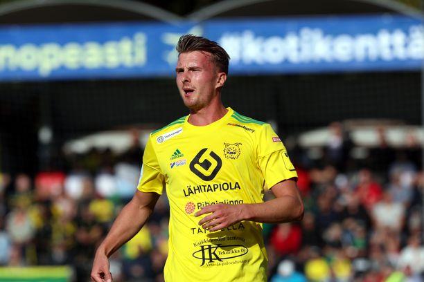 Janne Sakselan kausi päättyi jo toisessa pelissä liigapaluun jälkeen.