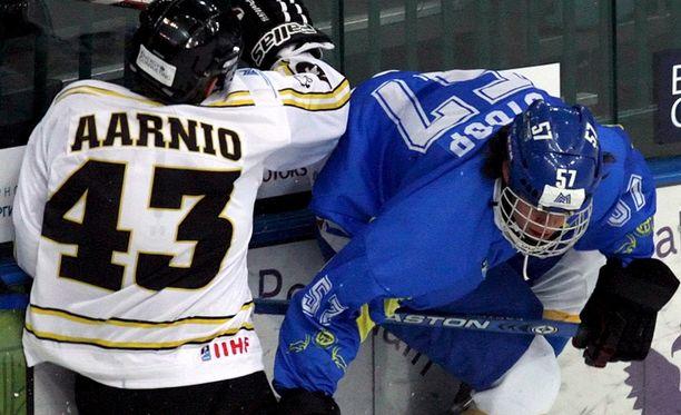 Antti Aarnio oli rymistelevä ihmiskuula, joka lopetti uransa loukkaantumiseen vuonna 2014.