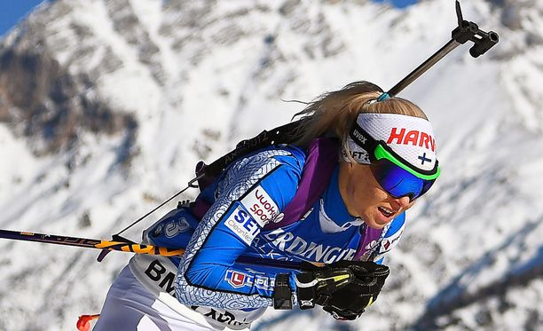 Mari Laukkasen sihti petti Itävallassa.