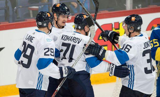 Suomi kukisti Ruotsin torstaina jatkoajalla maalein 3-2.