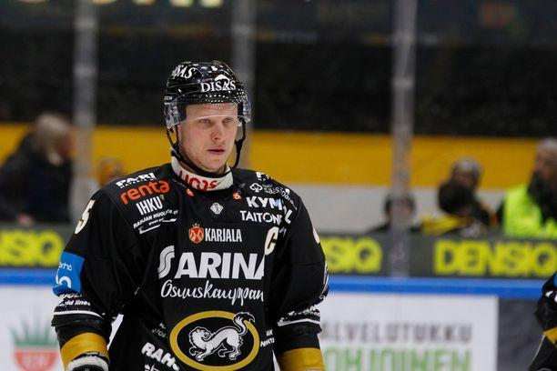 Lasse Kukkonen pelaa lauantaina pelaajauransa viimeisen ottelun.