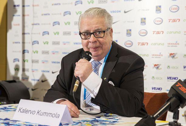Kalervo Kummola ei pidä Herningin MM-majoitusolosuhteita niin heikkoina kuin ensin pelättiin.