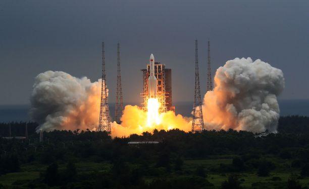 Kiina laukaisi Long March 5B -raketin huhtikuun 29. päivä.