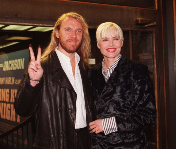 Harlin oli naimisissa Oscar-palkitun näyttelijä Geena Davisin kanssa ja pari vieraili Suomessakin useita kertoja.