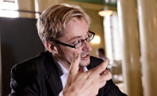 Mikael Jungner ei ennättänyt keskiviikkona äänestämään eduskuntaan.