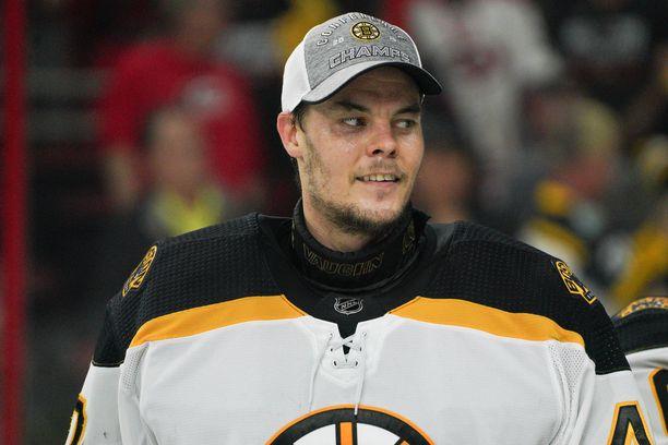 Boston Bruinsia edustava Tuukka Rask on ehtinyt muutaman päivän ajan palautua ja tankata energiavarastojaan finaaliotteluihin.