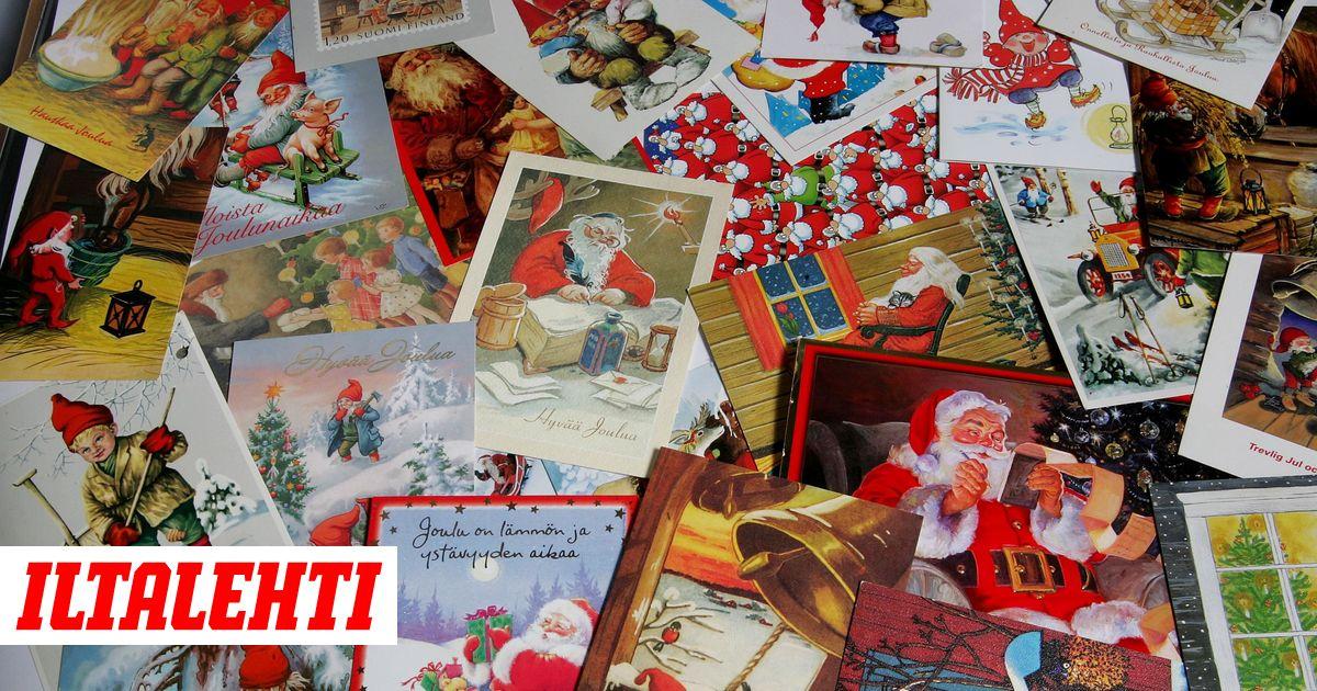 Joulukortin Postimaksu