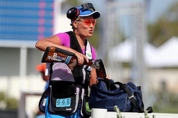 Olympiavoittaja Satu Mäkelä-Nummela paukutti uuden ME-tuloksen Acapulcossa.