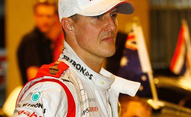 Seitsenkertainen F1-mestari Michael Schumacher toipuu hitaasti vuonna 2013 tapahtuneesta laskettuonnettomuudesta.