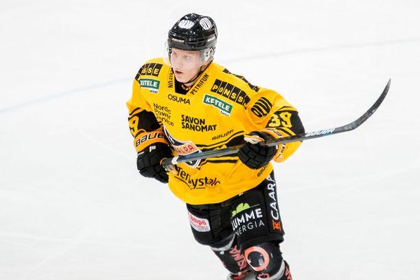 Puolustaja Kim Nousiainen teki KalPalle kaksi maalia.