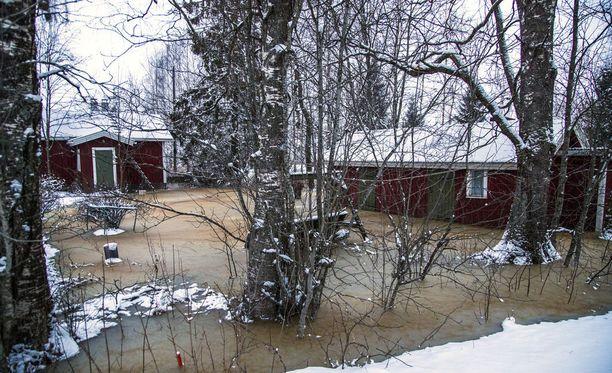 Kokemäenjoki tulvi viimeksi viime viikolla.