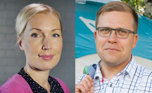 Salla Vuorikoski ja Jussi Eronen toimivat seuraavaksi Suomen Kuvalehdessä.