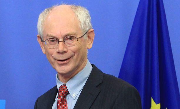 EU-presidentti kommentoi ylpeänä Nobel-palkintoa.