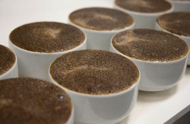 Kahvin tilalle Prismassa suositellaan vihreää teetä - kunhan makuun tottuu.