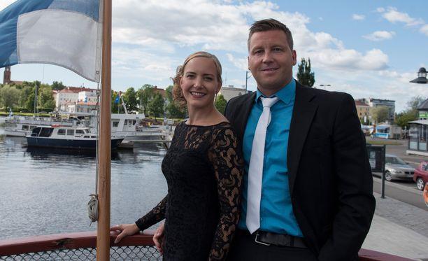 Maria Nyqvist ja Jani Sievinen nähdään Linnan juhlissa.