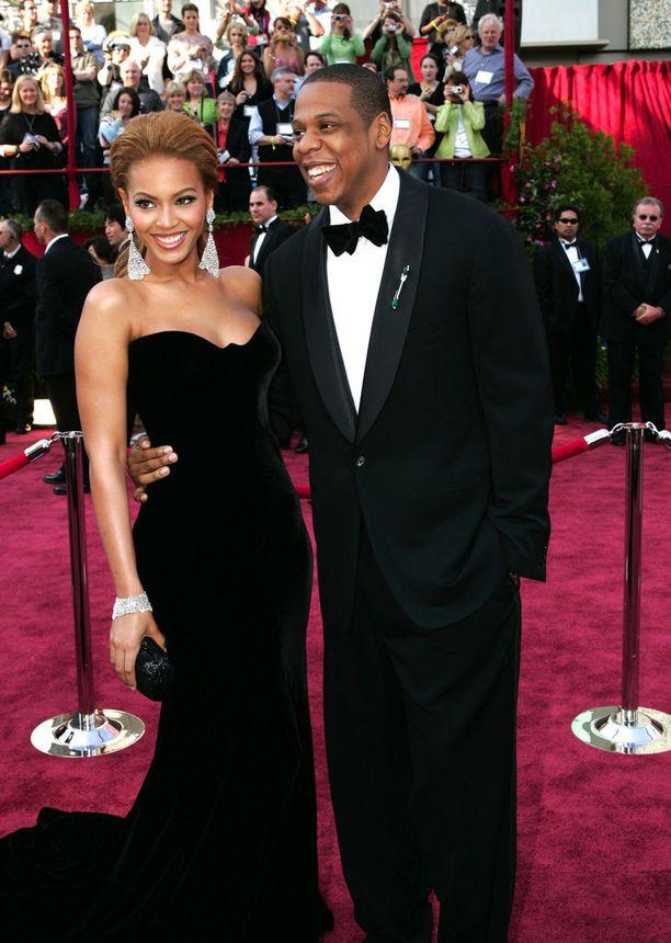 Beyoncé ja Jay Z ovat tuttu näky punaisella matolla.