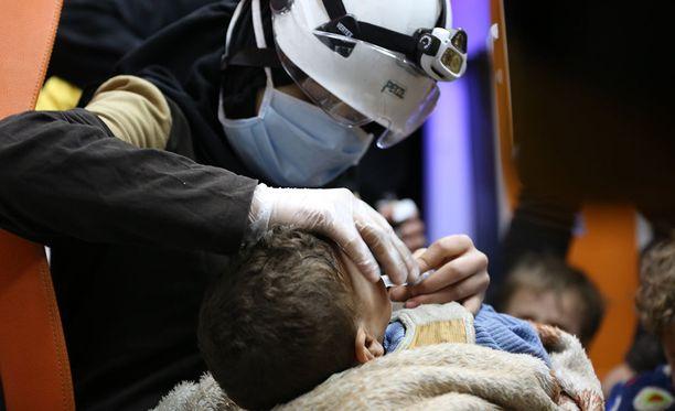 Yhdysvaltain ulkoministeriö tiedottaa, että Yhdysvalloilla on todisteita Syyrian Bashar al-Assadin hallinnon kemiallisten aseiden käytöstä.