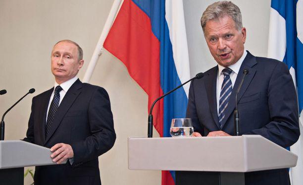 Tasavallan presidentti Sauli Niinistö tapasi Venäjän presidentin Punkaharjulla ja Savonlinnassa heinäkuun lopussa.