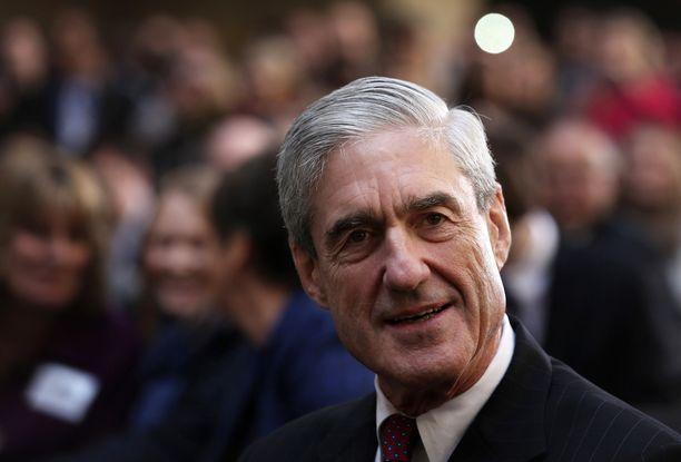 Trumpin lähipiiriin kohdistuvaa Venäjä-tutkintaa johtaa erikoissyyttäjä Robert Mueller.