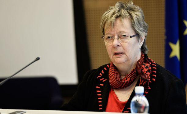 Euroedustaja Liisa Jaakonsaaren (sd) kokous keskeytettiin uhkaavan tilanteen takia tiistaiaamuna.