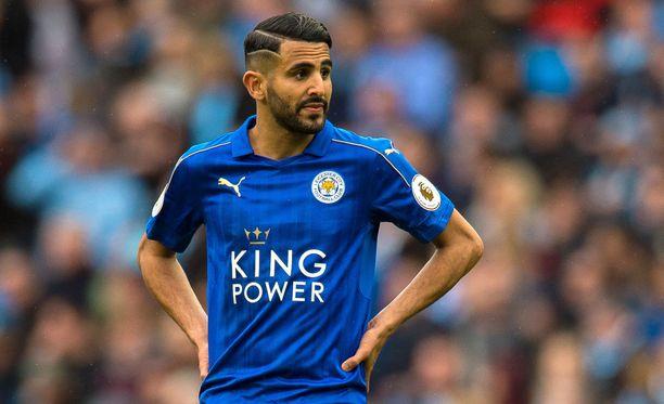 27-vuotias Riyad Mahrez tulee pelaamaan Manchester Cityssä paidassaan numero 26.