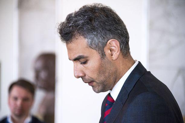 Hussein al-Taee ei ole vielä osallistunut eduskuntatyöhön käytännössä lainkaan.