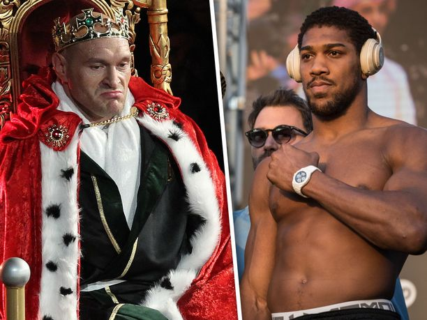 Tyson Furyn (vas.) ja Anthony Joshuan on määrä otella ensi vuoden aikana.