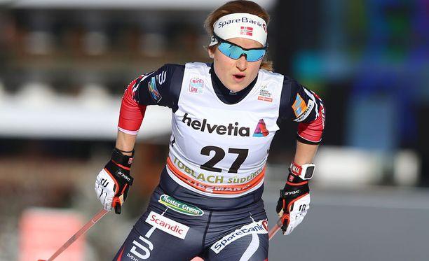 Marthe Kristoffersenia ei nähdä ensi talven olympialaisissa.