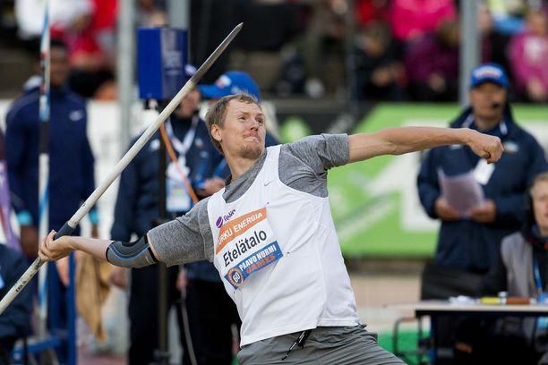 Viime kaudella meni 77,60 Paavo Nurmi Gamesissa.