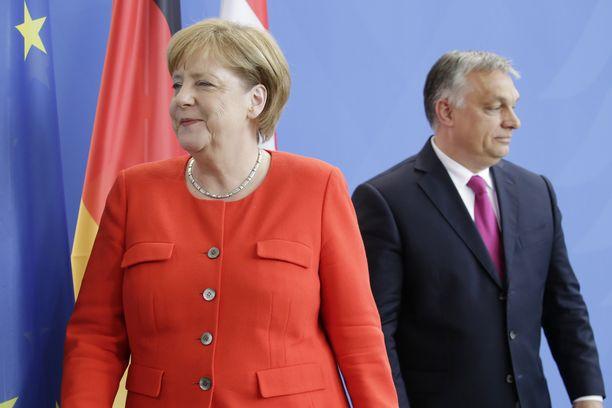 Liittokansleri Angela Merkel ja Unkarin pääministeri Viktor Orban tapasivat Berliinissä 2018.