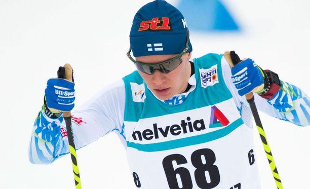 Matti Heikkinen ankkuroi Vantaan Hiihtoseuran mestariksi.