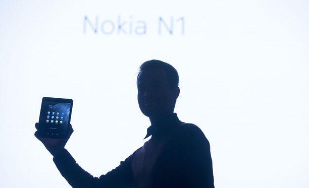 N1:n julkistus Helsingin Slush-tapahtumassa marraskuussa 2014.